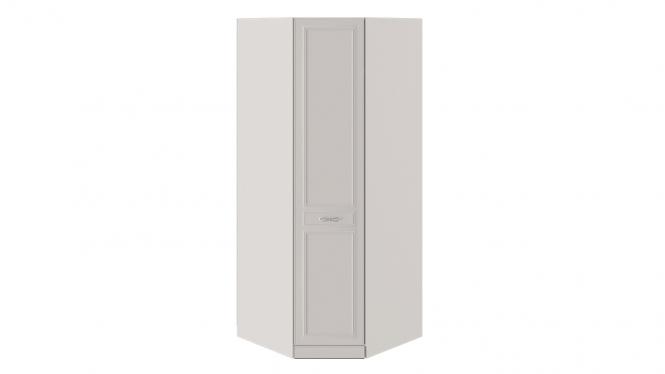 Шкаф угловой с 1 глухой дверью левый с опорой «Сабрина»